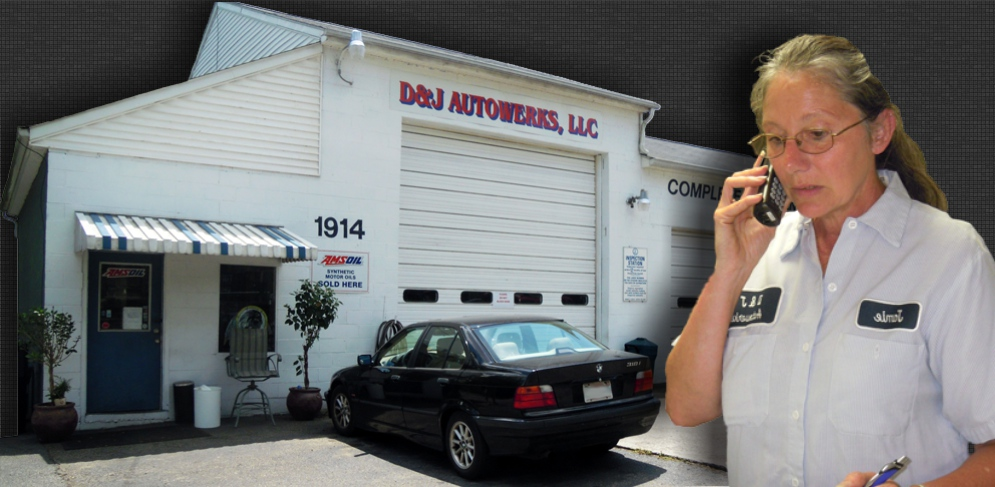 Contact D & J Autowerks for German Auto Repair and Import and Domestic Auto Repair