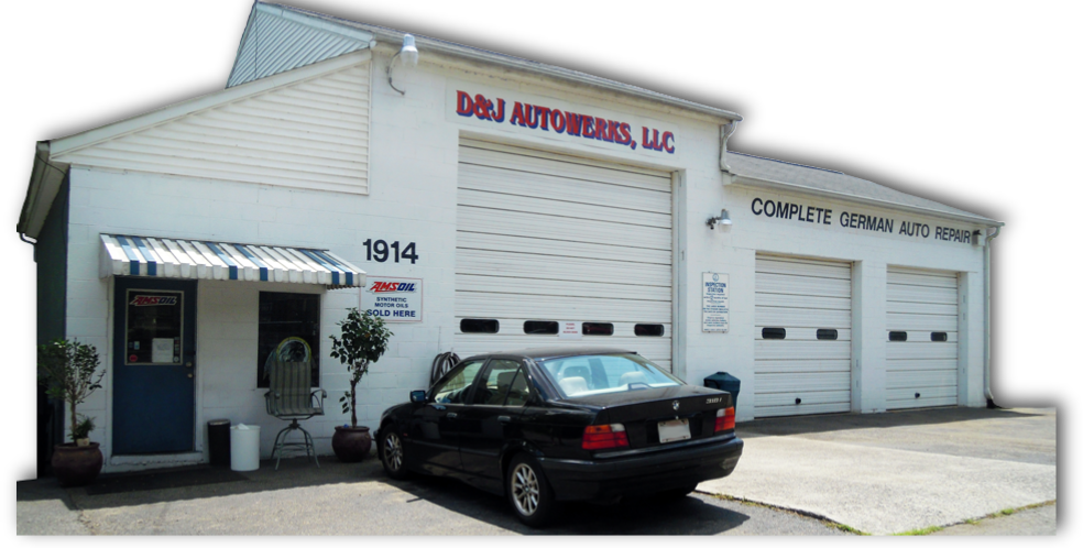 D & J Autowerks shop is located at 1914 Patterson Avenue SW in Roanoke Virginia
