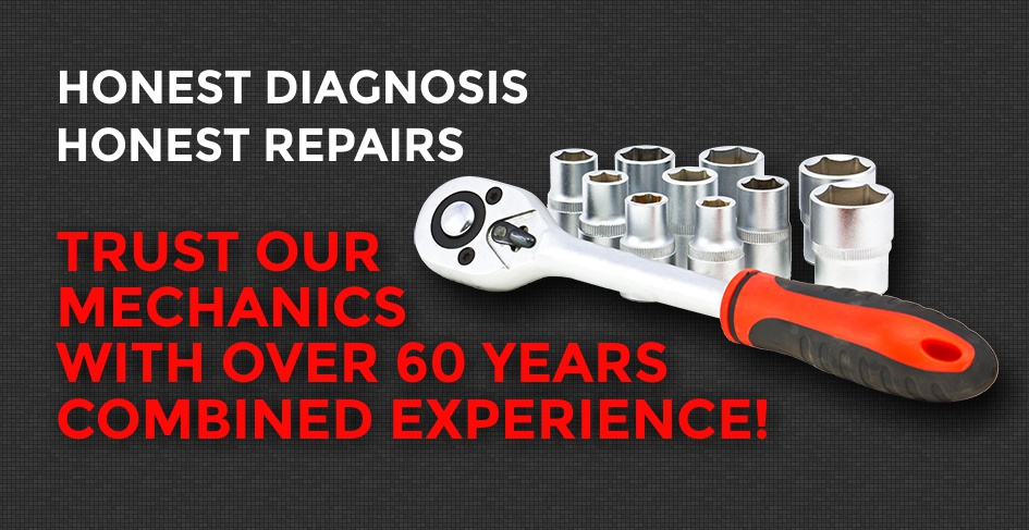Trust D & J Autowerks Mechanics with 60 years experience